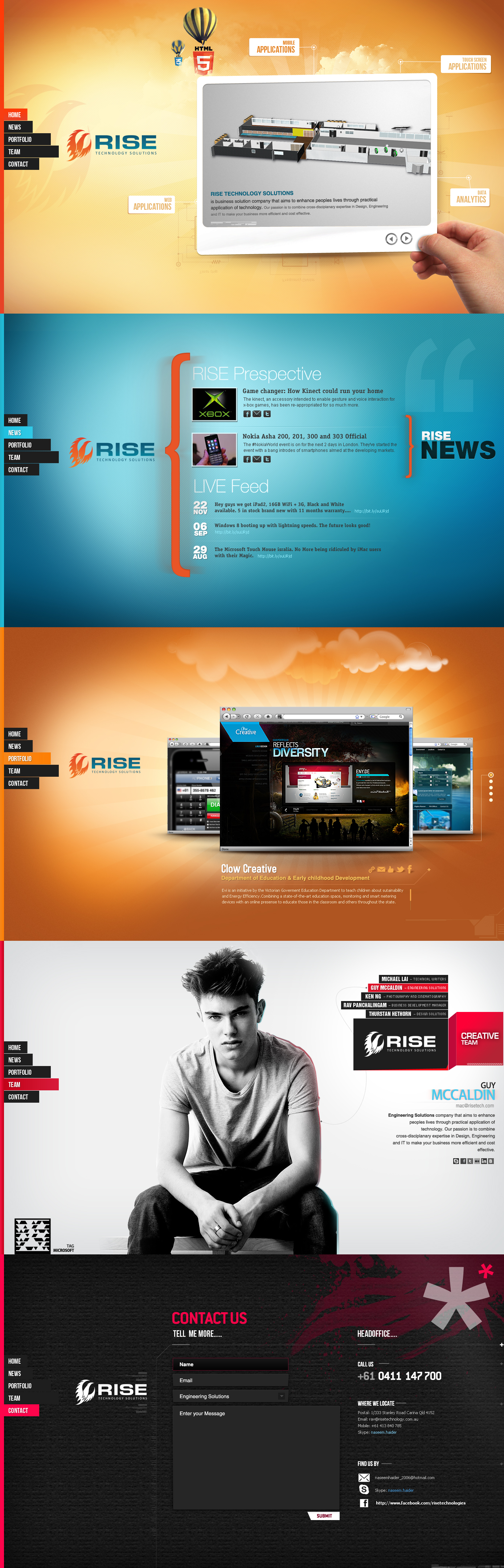 Rise Technologies Html 5 by naseemhaider