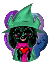Ralsei loves you by KittyOLM