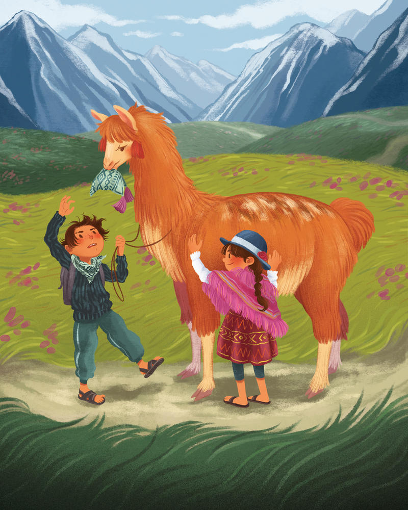 Young Shepherds by jasminjuu