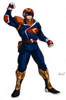 Captain Falcon 'FZ_1' by CaptStrife