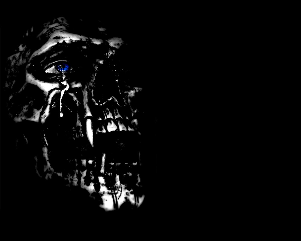 Evil Skull And Crossbo...