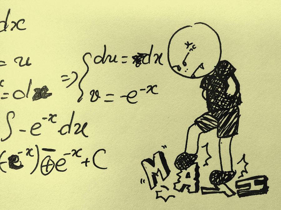 i hate math by ashleymadden1992 on DeviantArt I Hate Math Image