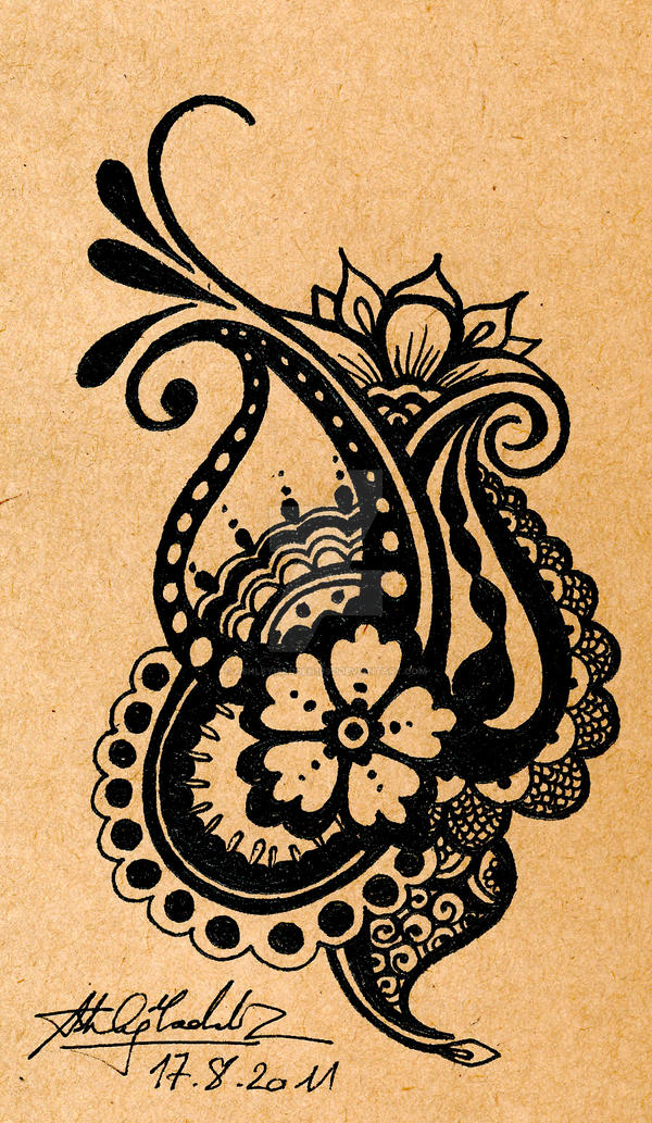 Henna Design Line Art : Henna design by ashleymadden on deviantart