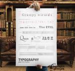 Typography Basic Poster