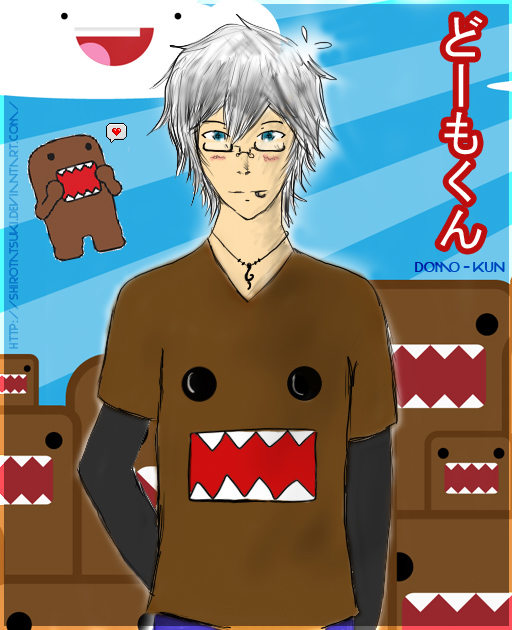 Domo-Kun Guy ~ ! by ShiroTatsuKi