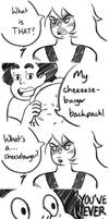 Cheeto's First Cheeseburger by DoctorPiper