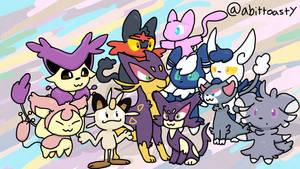 Pokemon Cat Squad