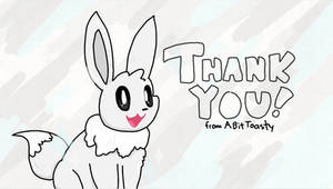 Eevee Thanks You!