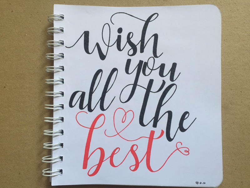 Wish you all the best by sangracetiu on deviantart for All the very best images