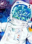 Intergalactic space plant