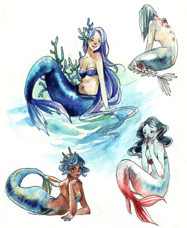 Mermaids by Capilair