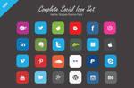 Free Vector Social Icons Set
