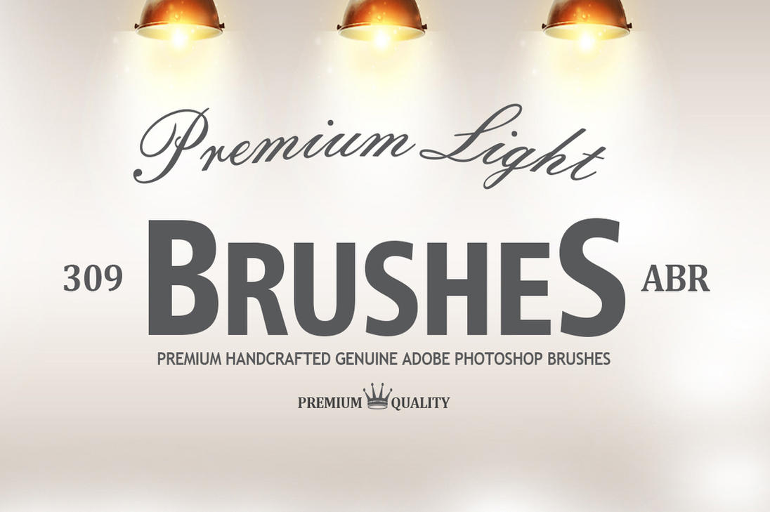 309 Photoshop Light Effect Brushes by C3CreativeSpace