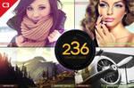 236 Diamond Grade Photoshop Actions by C3CreativeSpace