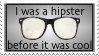 Hipster Stamp by TheCat101