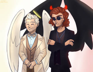 so Good Omens huh by ToastyPastelPrince