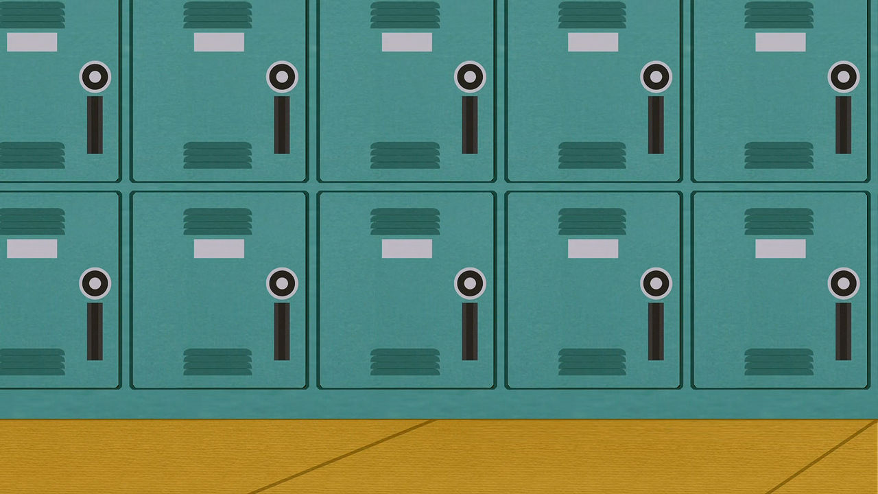 South Park School Lockers Background Free To Use By Martin Sp On Deviantart