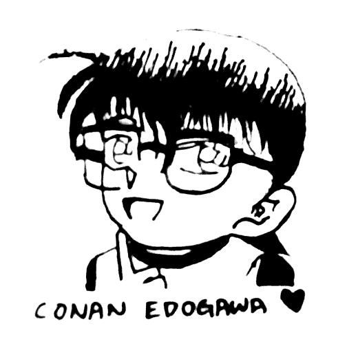 Conan Edogawa by kfreaked