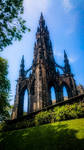 Scott Monument, Edinburgh by xkixk