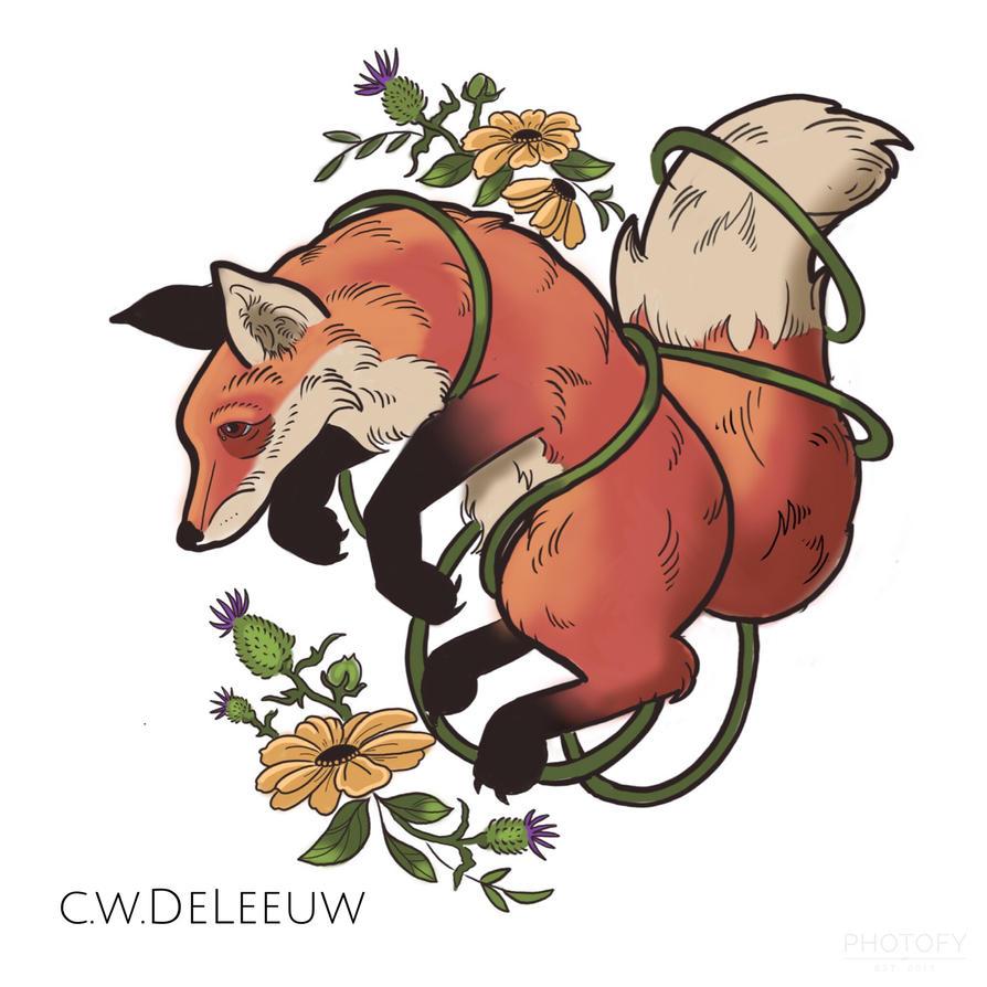 Fox by CDeLeeuw