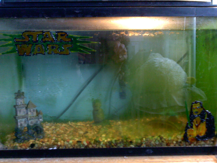 star wars fish tank decoration by sha ya ni on deviantart