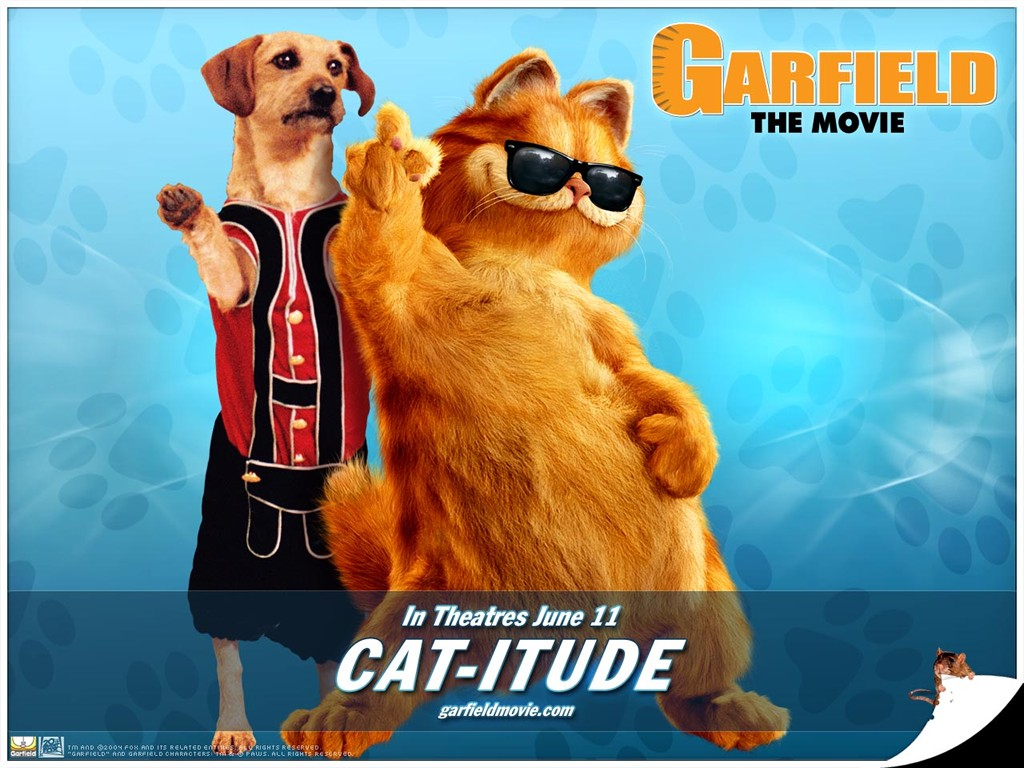 Garfield Movie Poster By Leafs4life On Deviantart
