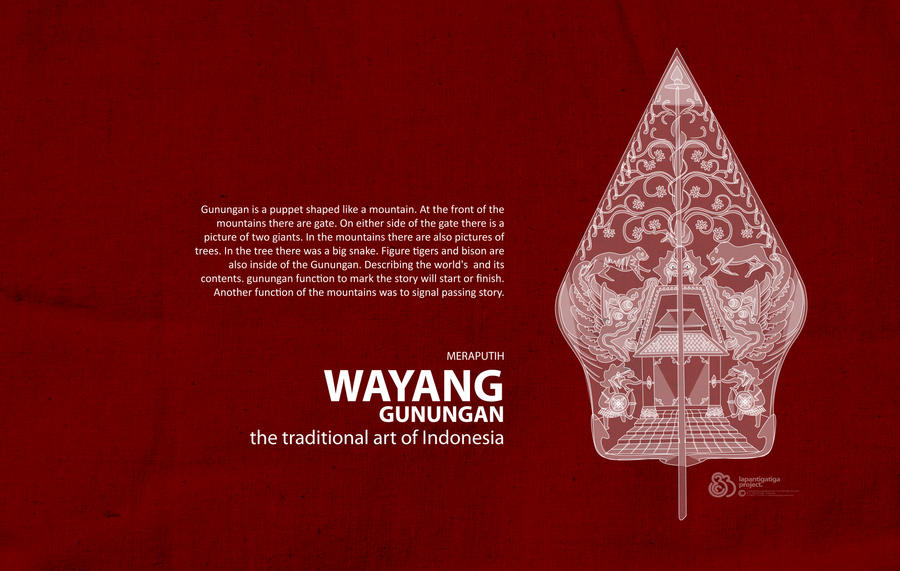 Gunungan Wayang By Lapantigatiga On DeviantArt