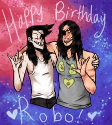Happy late birthday Robo!