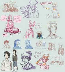 Doodle dump #5