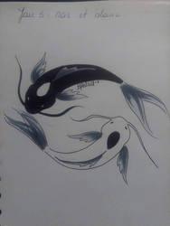 #HELLORAMBU Jour 5  Noir et blanc by MimiAstrid