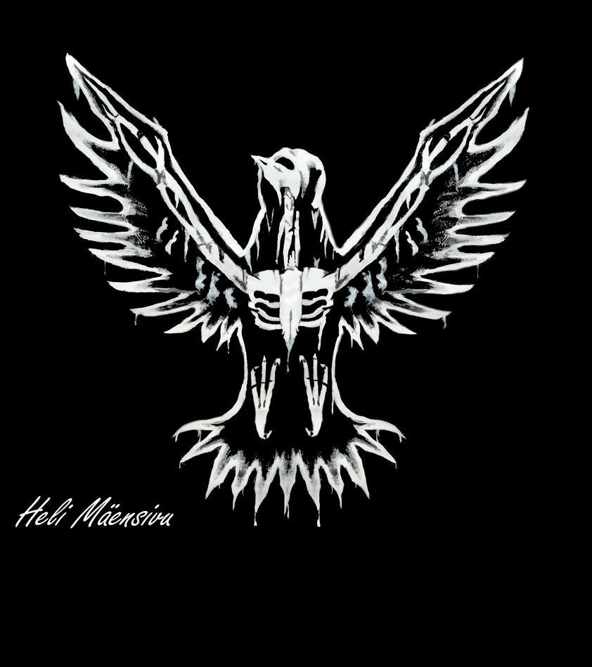 skeleton bird by Kansuli