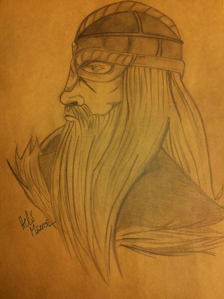 warrior by Kansuli