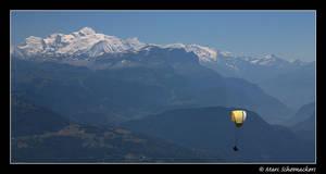 Sailing to Mont Blanc