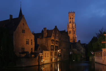 Bruges by night - II