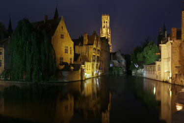 Bruges by night - III