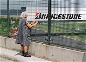 A 'typical' Formula 1 fan by kalandor