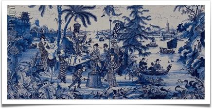 اصطلاح (آیکن) و (چاینوییسری) در نقاشی