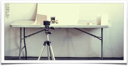 آموزش عکاسی از محصول با پسزمینه سفید