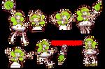 Puyo Puyo Tetris: S's In-Game Sprites