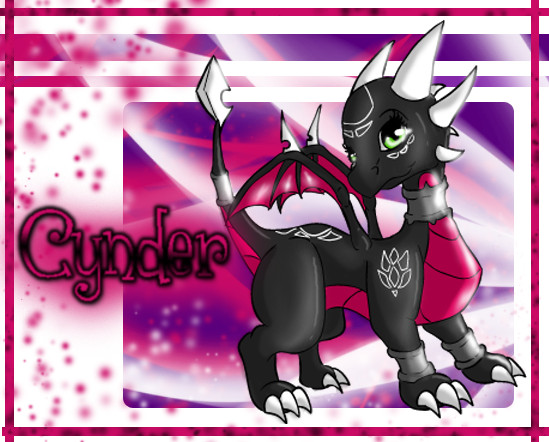 Chibi Cynder by SweetLhuna