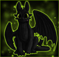 Toothless by SweetLhuna