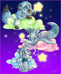 Let's Hunt the Stars by SweetLhuna