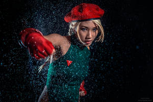 Street Fighter Cammy cosplay II by kimkine