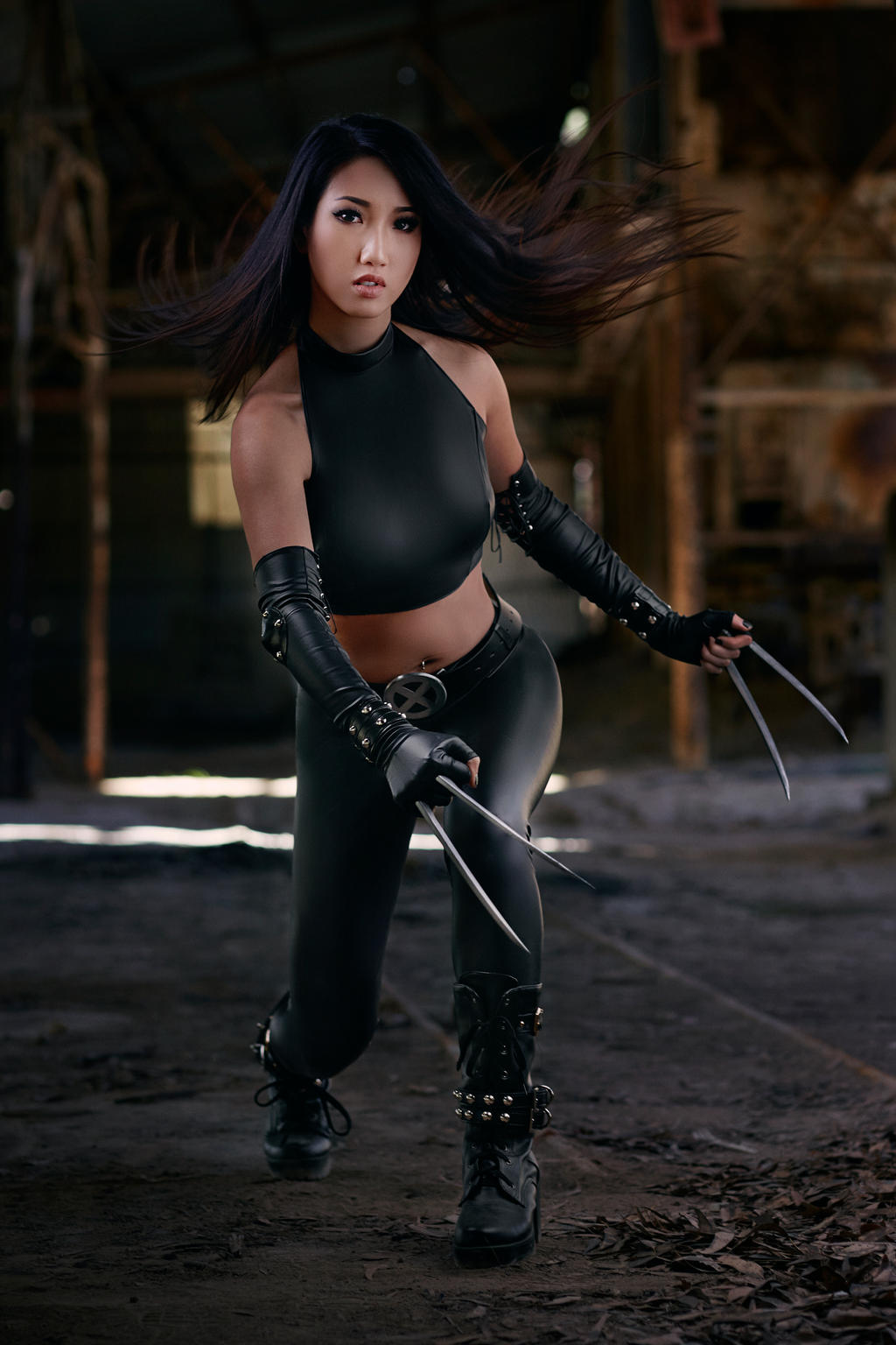 x-23 Cosplay by kimkine on DeviantArt X 23 Cosplay Wallpaper
