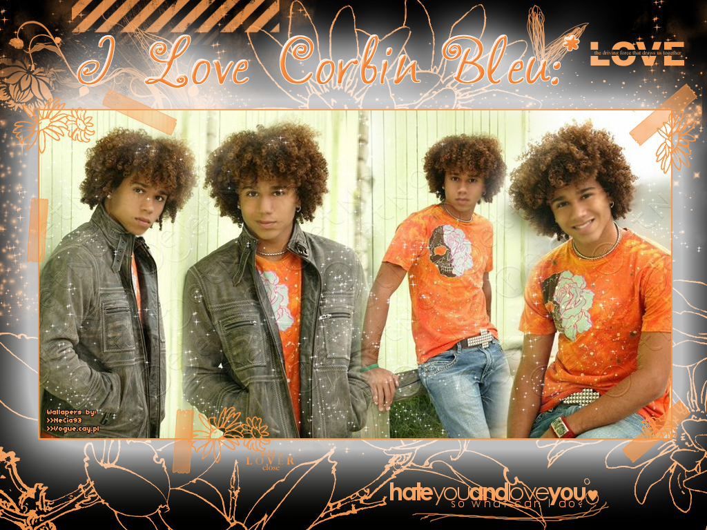 corbin bleu wallaper by necia93 on deviantart