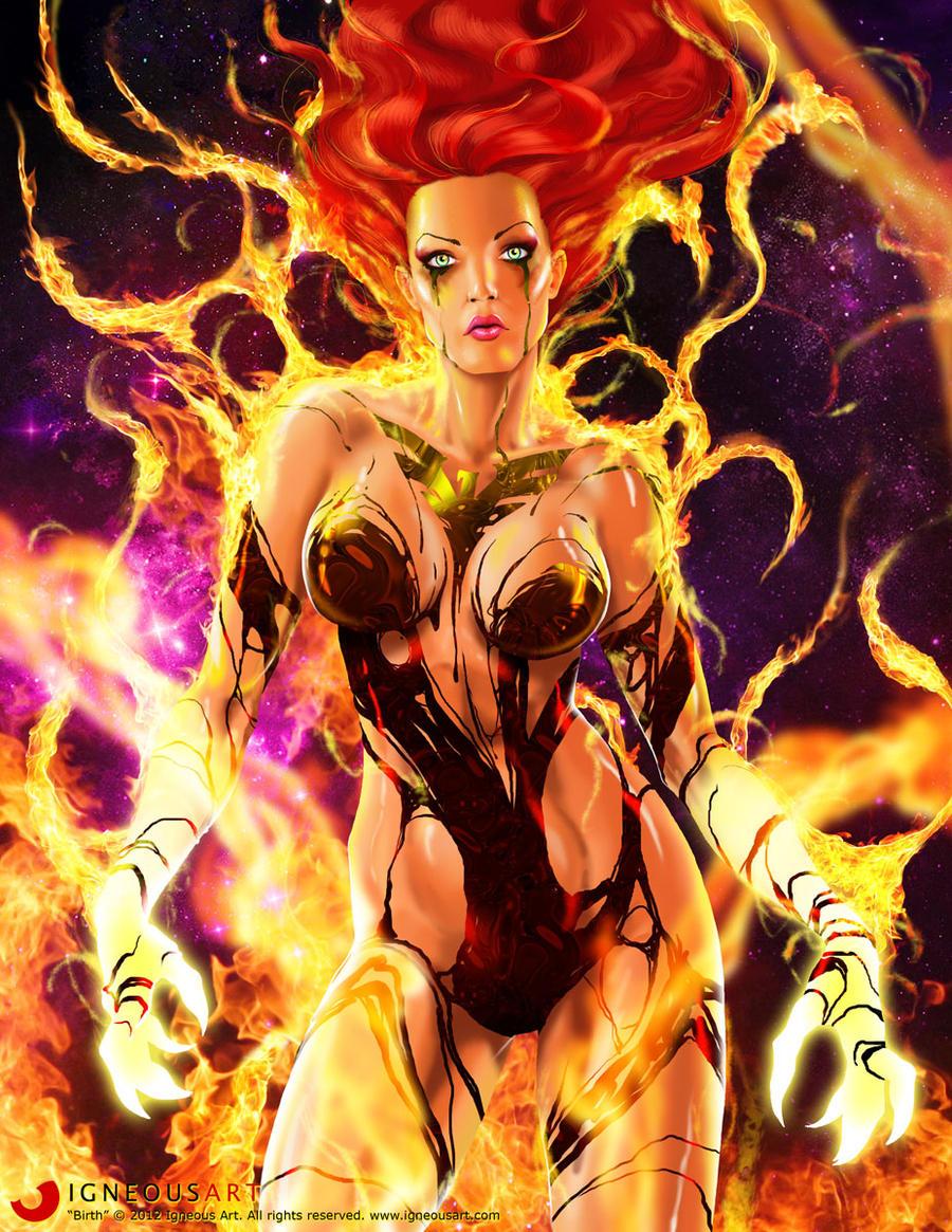 Birth of Dark Phoenix by ogi-g
