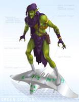 Green Goblin - OG Marvel remix DB by ogi-g