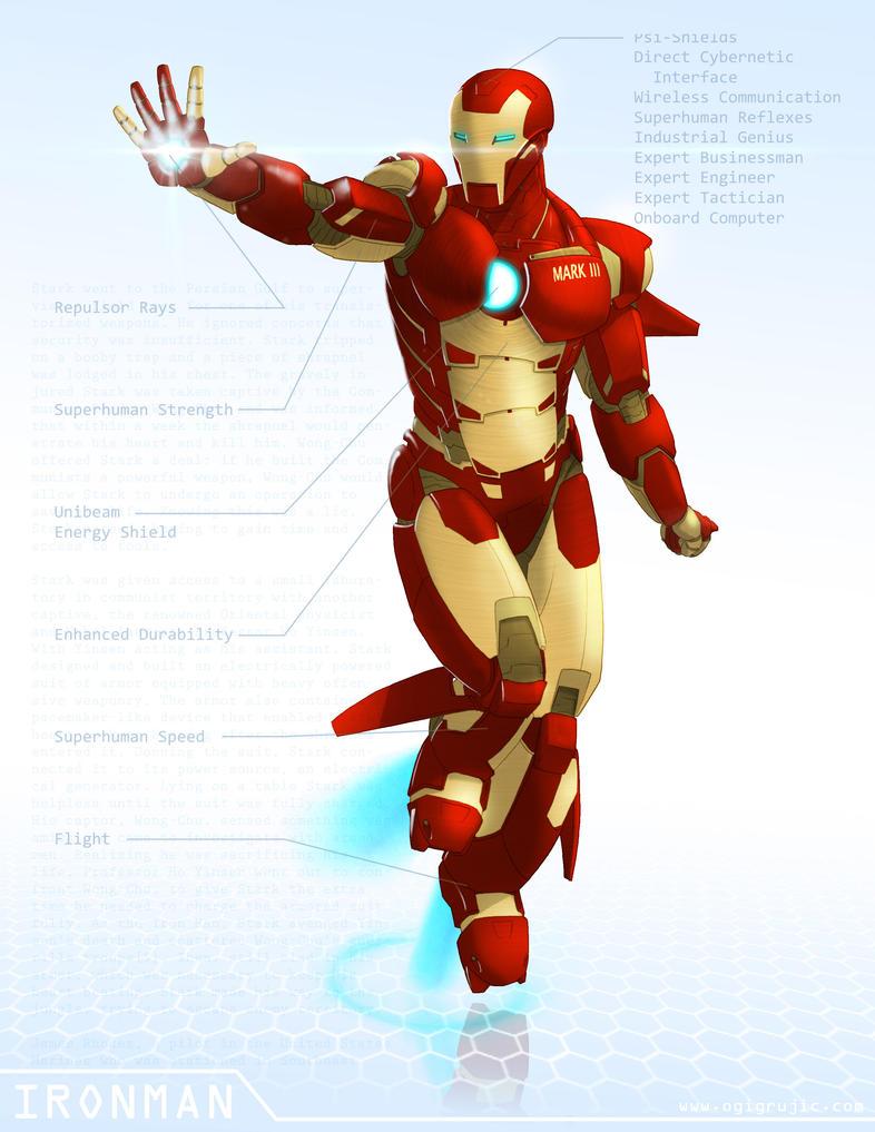 IronMan - OG Marvel remix DB by ogi-g