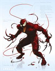 Carnage - OG Marvel remix DB by ogi-g