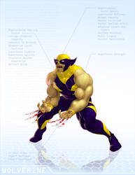 Wolverine - OG Marvel remix DB by ogi-g
